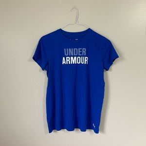 Royal Blue Under Amour Graphic Tee